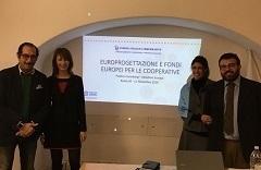 Primo corso di formazione su europrogettazione e fondi europei per le cooperative