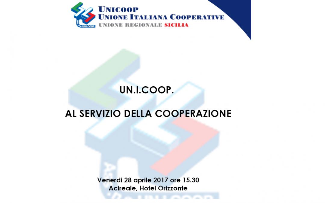 """CONVEGNO UNIONE REGIONALE SICILIA: """"UN.I.COOP. al servizio della cooperazione"""""""
