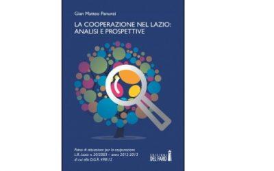 """Pubblicazione """"La cooperazione nel Lazio: analisi e prospettive"""""""