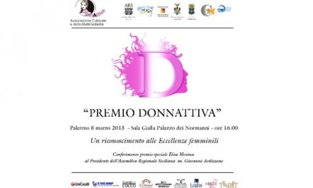 Premio Donnattiva 2013 patrocinato dalla UN.I.COOP. Sicilia