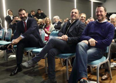 Ministro Salvini - On. De Toma - Sen. De Vecchis