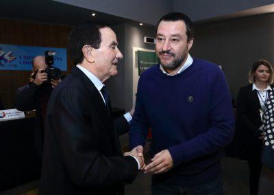Pres. Francesco Dello Russo e Ministro Matteo Salvini