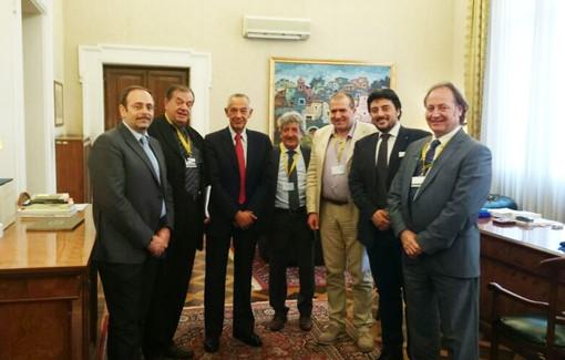 Incontro con il Sottosegretario con delega all'autotrasporto Umberto Del Basso De Caro