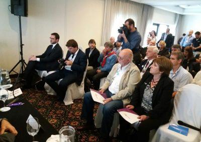 conferenza in Uruguay per il protocollo d'intesa tra UNICOOP e INACOOP