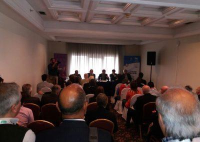 sala ospitante la delegazione UNICOOP in Uruguay presso l'INACOOP