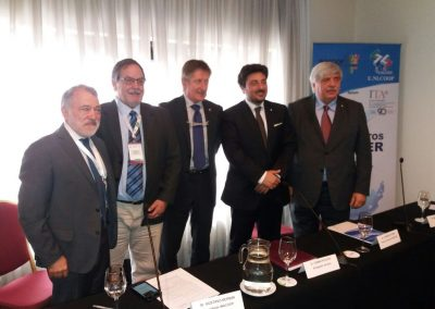 delegazioni dell INACOOP e dell' UNICOOP in Uruguay