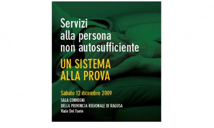 """La UN.I.COOP. Sicilia organizza a Ragusa il Convegno dal titolo """"Servizi alla persona non sufficiente – un sistema alla prova"""""""