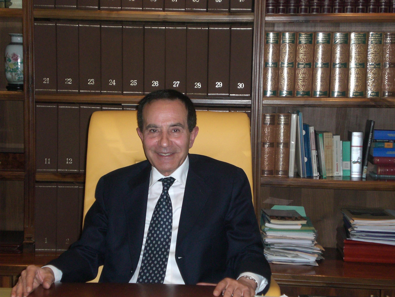 foto del Presidente dell' associazione UNICOOP sede di Roma.