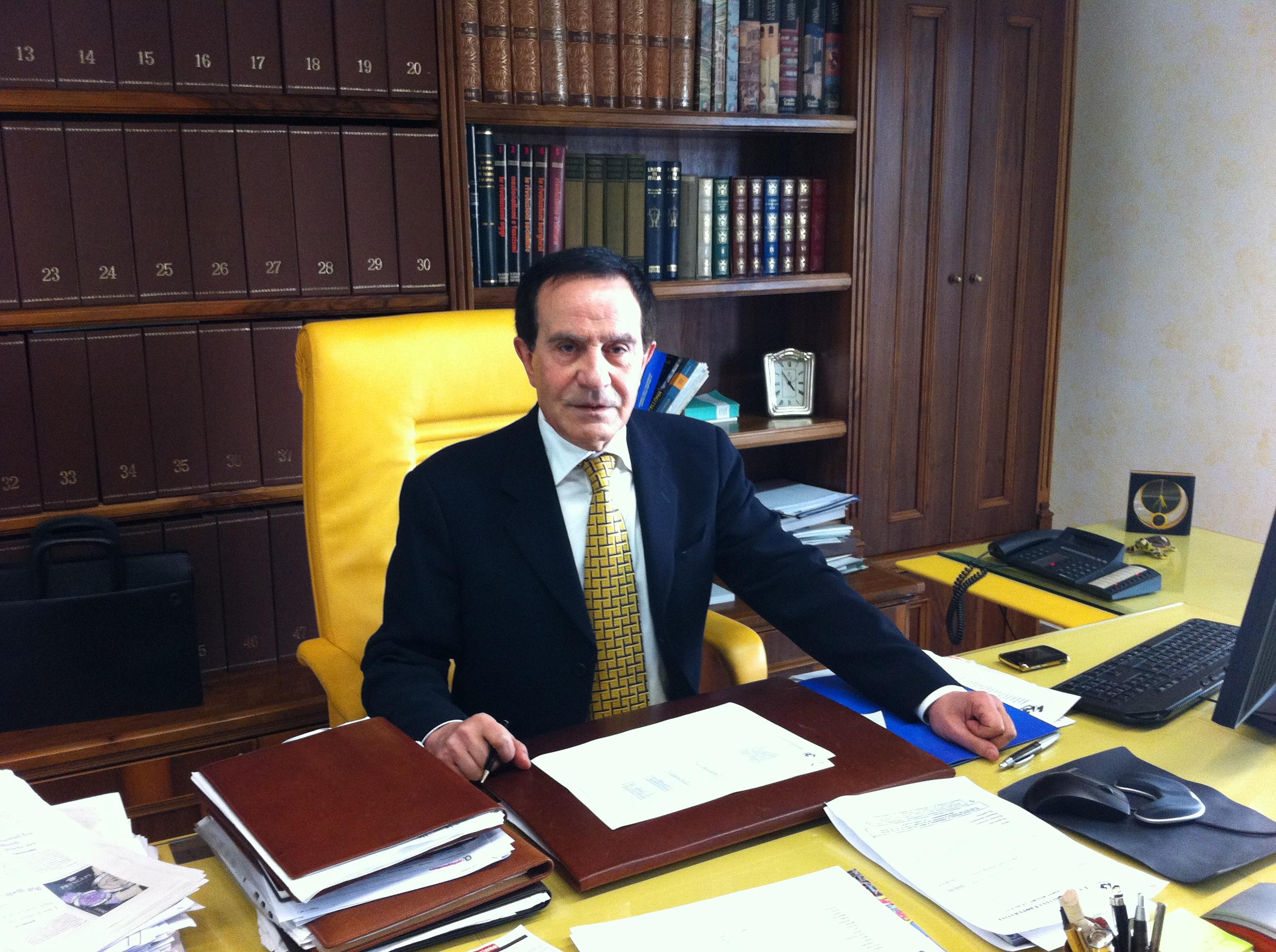 Francesco Dello Russo, presidente nazionale UNICOOP di Roma